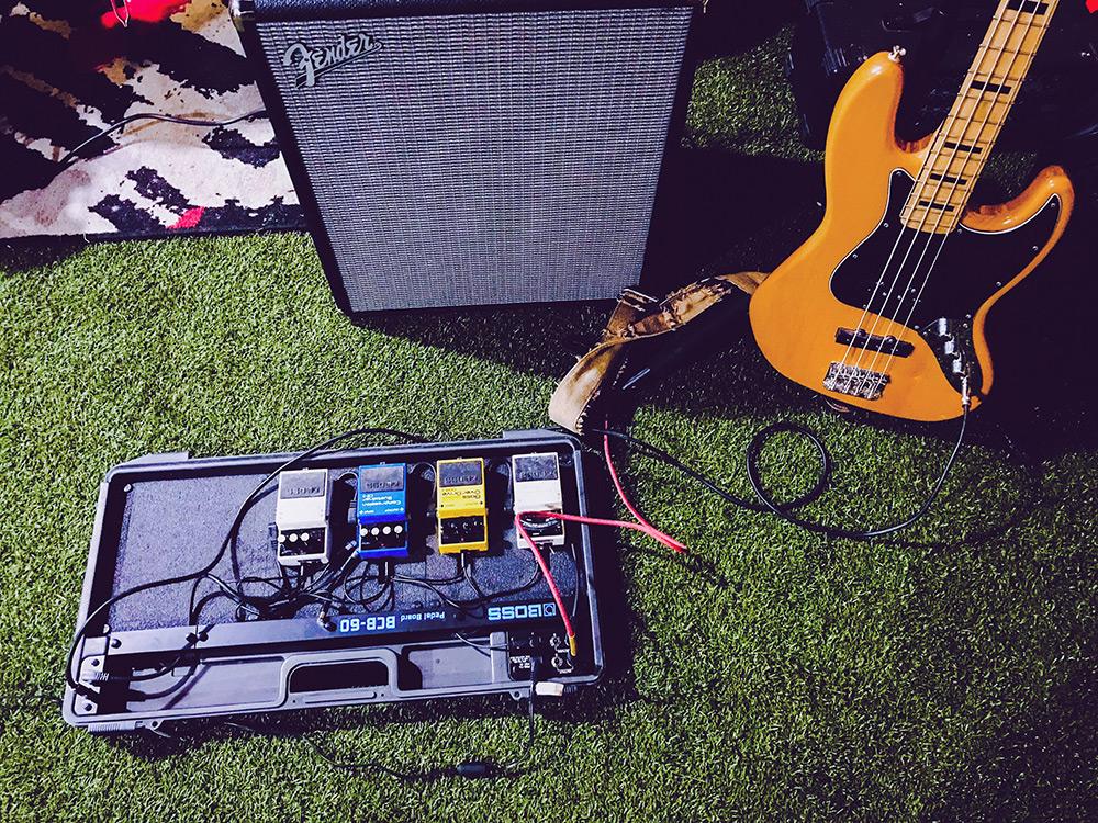 заземление гитары